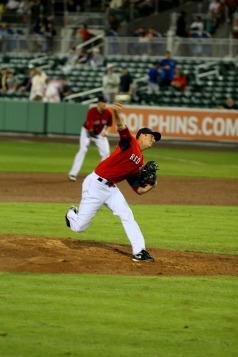 Clay Mortensen in action