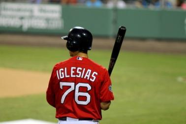 Iglesias on deck
