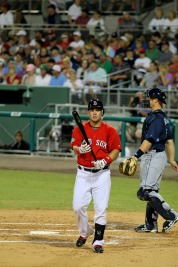 Linares at the plate