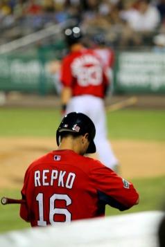 Repko waits his turn