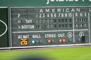 The Green Monster tells the story