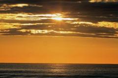 Sun Shining Through Clouds-Ogunquit Beach