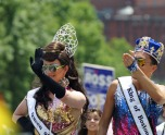 The King and Queen of Boston Pride 2012