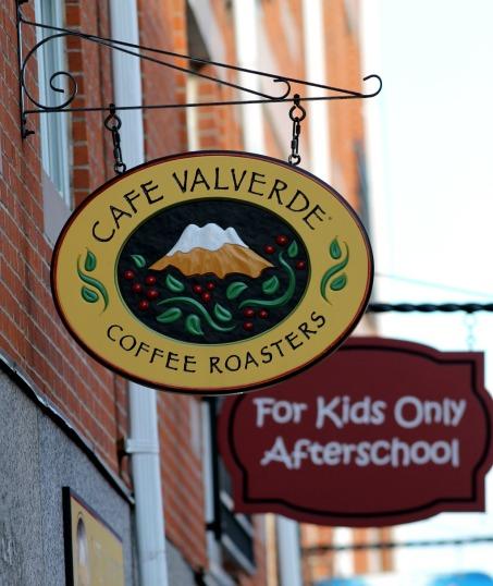 Cafe Valverde Sign