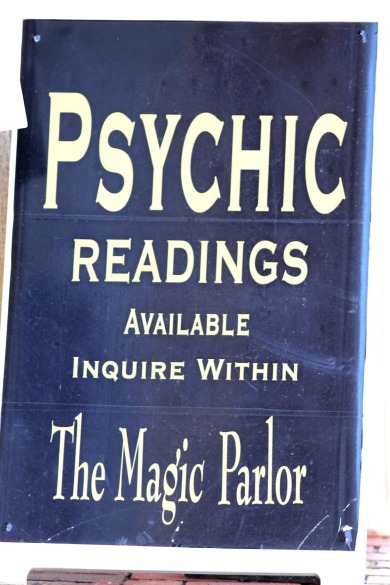 Psychic Readings Sandwich Board-Salem