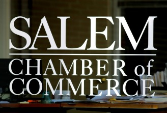 Salem Chamber of Commerce Window