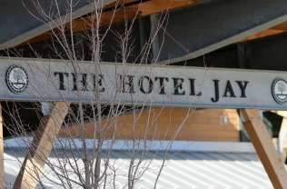 The Hotel Jay Sign