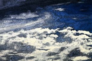 Clouds over Nubble Light-Fresco