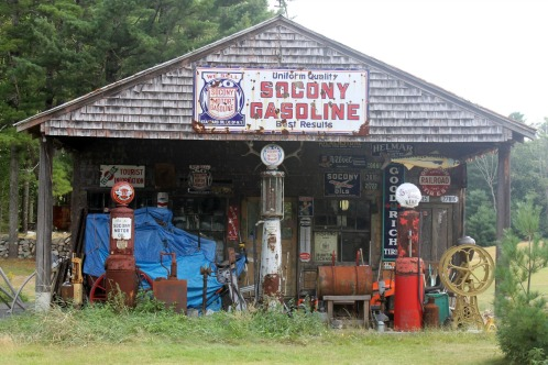 Old Socony Gas