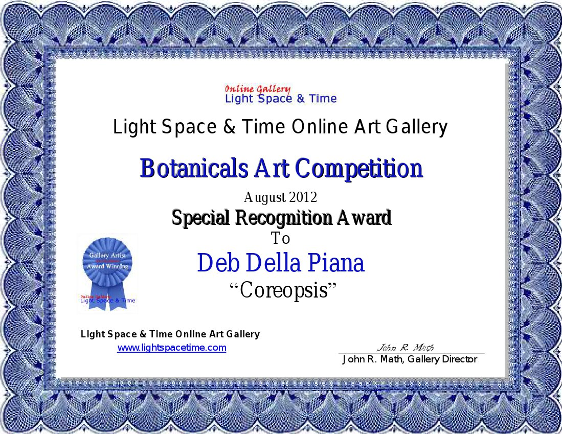Word 2013 Award Certificate