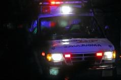 Waiting ambulance