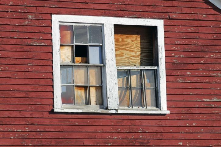 The Barn Windows, Nevins Farm, Methuen, Massachusetts
