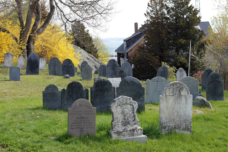 Old Burial Hill Stones, Marblehead, MA