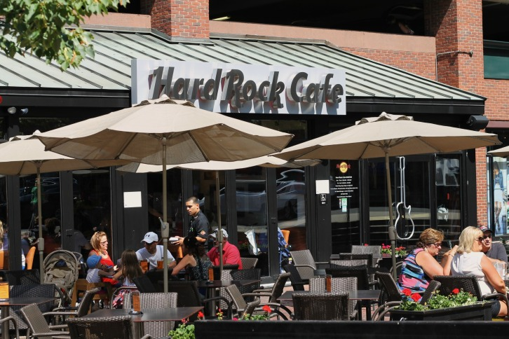 The Hard Rock Cafe, Boston, Massachusetts