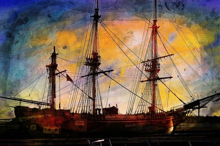 Salem Friendship Clipper, Essential Textures