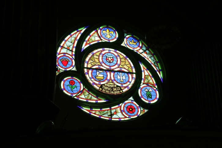 Stained Glass Window, St. Leonard's Church, Boston, Massachusetts