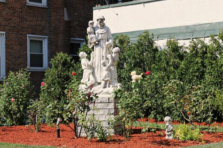 The Peace Garden, St. Leonard's Church, Boston, Massachusetts