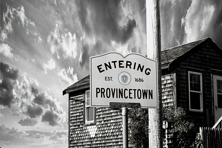 Entering Provincetown Sign