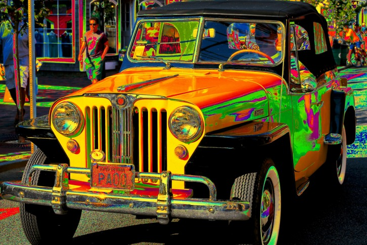 The Jeepster on Commercial Street, Provincetown, Massachusetts (Special Effects)