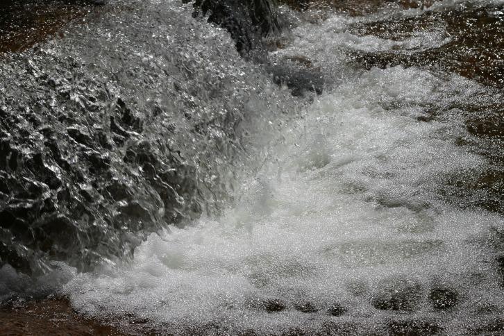 Splash! Rushing Water at Otter Rocks, New Hampshire