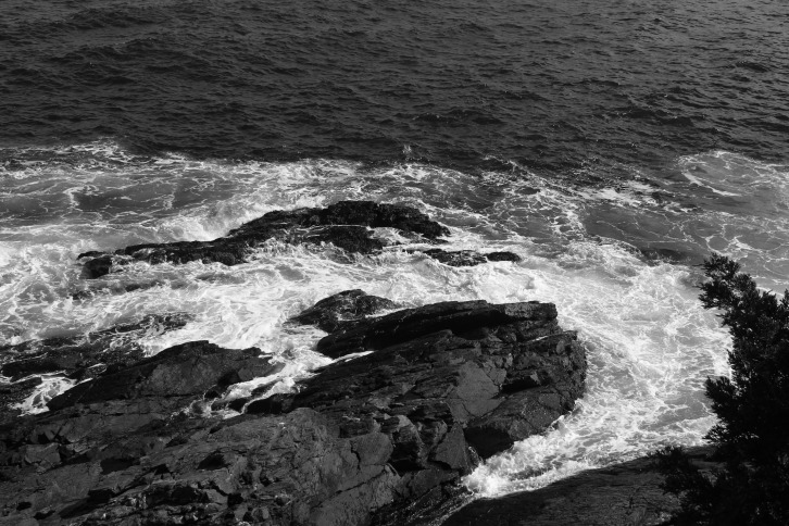 Overview, Marginal Way, Maine