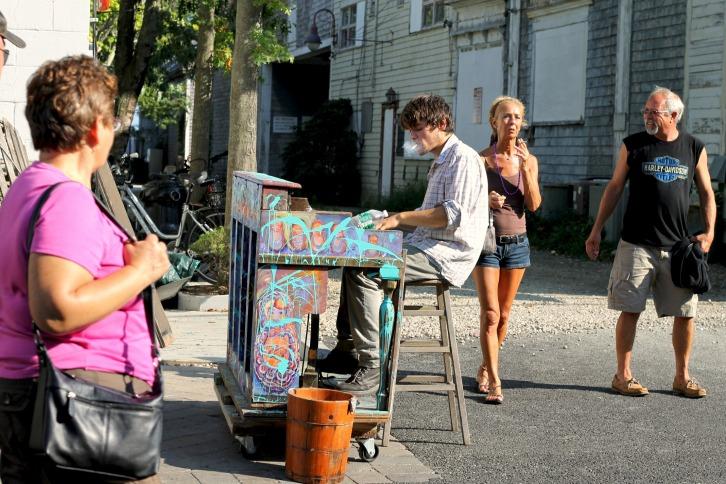 The Piano Man, Provincetown, Massachusetts