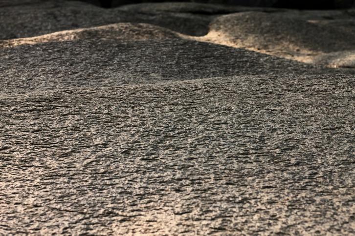 Rock Surface at Diana's Baths, New Hampshire
