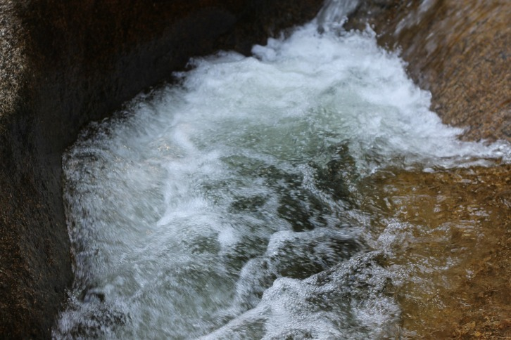 Rushing Water, Diana's Baths, New Hampshire
