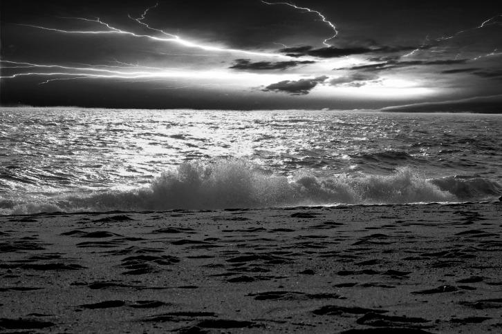 Stormy Evening, Herring Cove Beach, Provincetown, Massachusetts