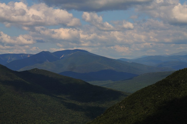 View From the Top of Loon Mountain, Jackson, New Hampshire