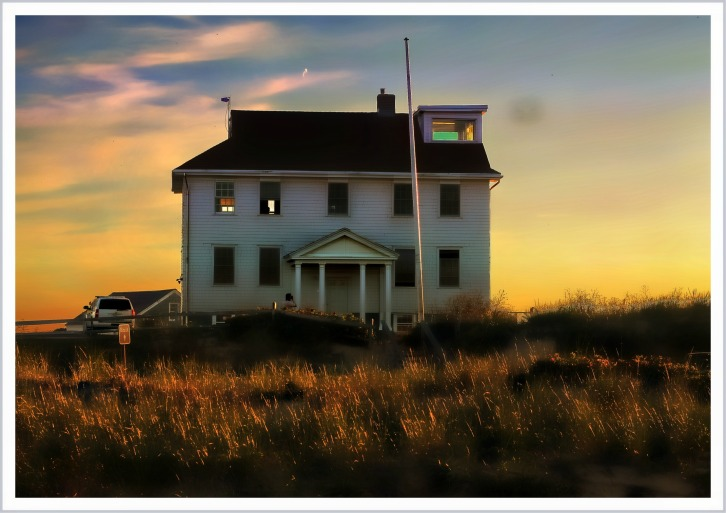 The House at Race Point, Provincetown, Massachusetts (Glowing Beauty)