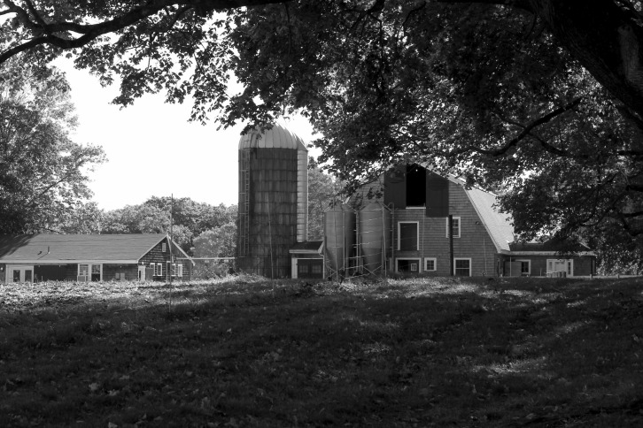 The Barn & Silos, Appleton Farms, Ipswich, Massachusetts
