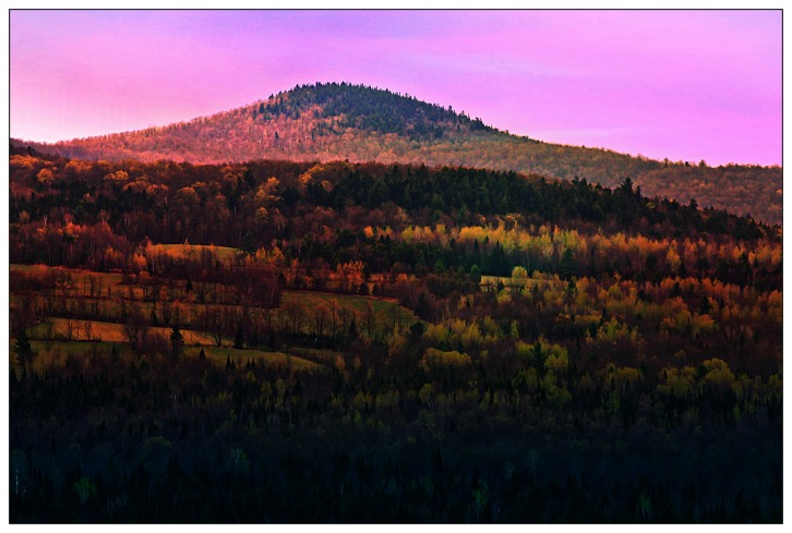 The Vermont Countryside (Sunrise Enhance)