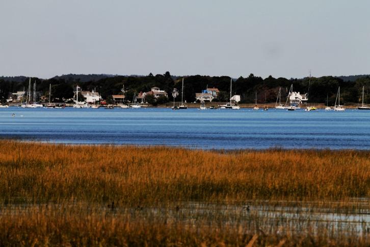 The View From Joppa Flats, Newburyport, Massachusetts