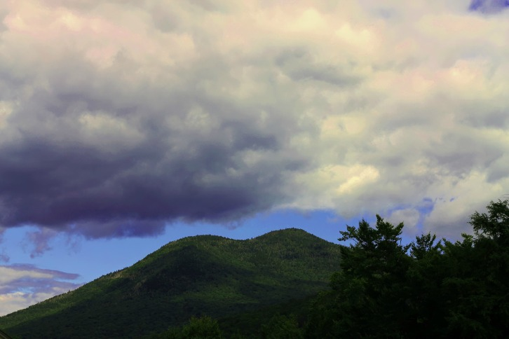 Clouds Over Loon Mountain