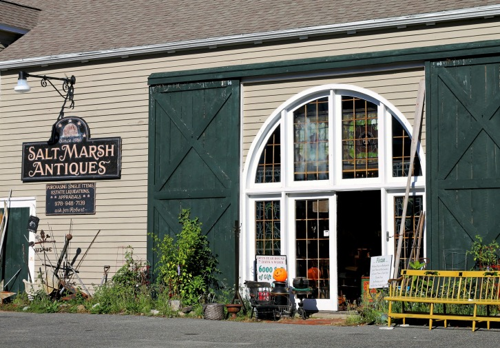 Salt Marsh Antiques, Ipswich, Massachusetts