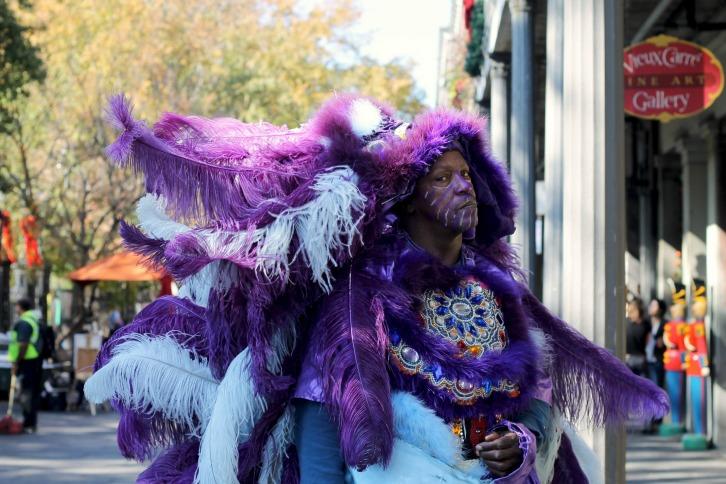 Street Performer, Jackson Square