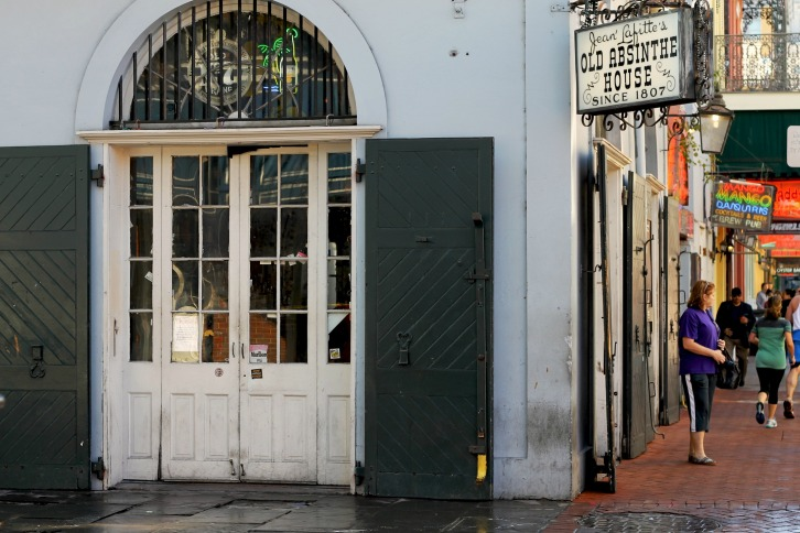 The Old Absinthe House, French Quarter