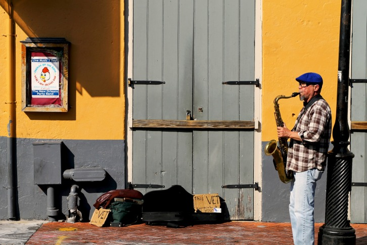 Street Musician, The French Quarter