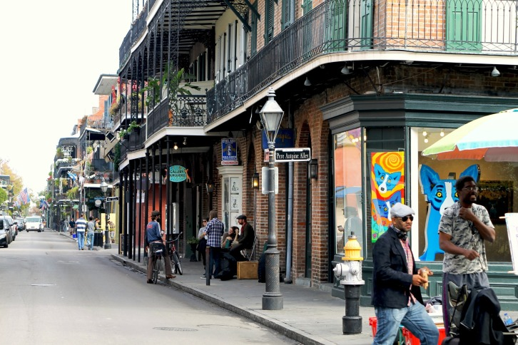 Street Scene, The French Quarter