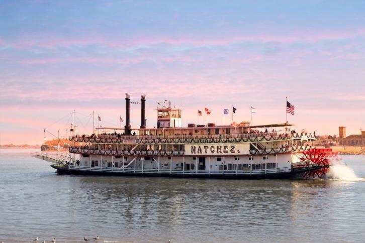 The Natchez, Mississippi River
