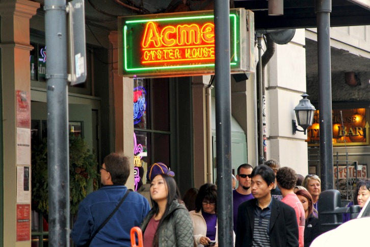 The Historic Acme Oyster House, New Orleans