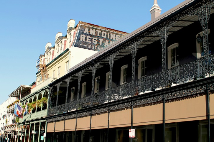 Balcony 12 (or Antoine's), The French Quarter, New Orleans