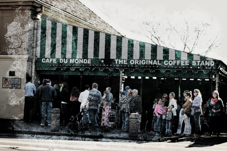 Cafe Du Monde, Jackson Square, New Orleans