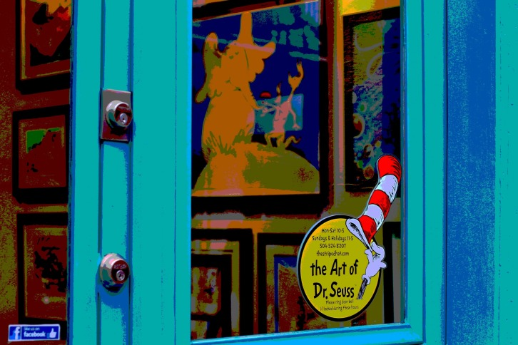 Dr. Seuss Art Gallery, The French Quarter, New Orleans
