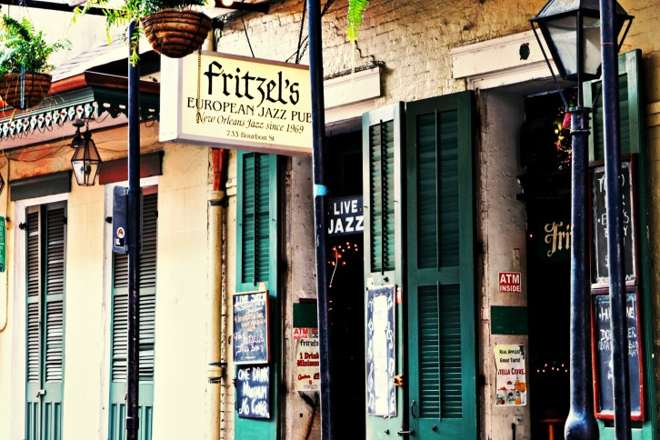 Fritzel's European Jazz Pub, New Orleans
