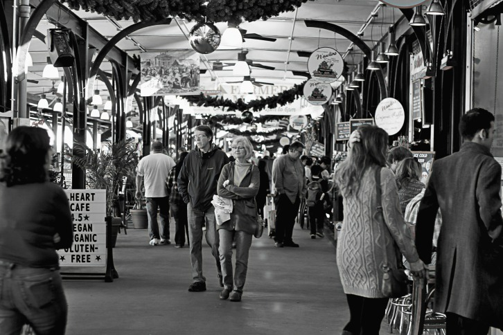 Inside the French Market, New Orleans