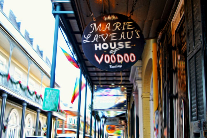 Marie Laveau's House of Voodoo, The French Quarter, New Orleans (Special Effects)