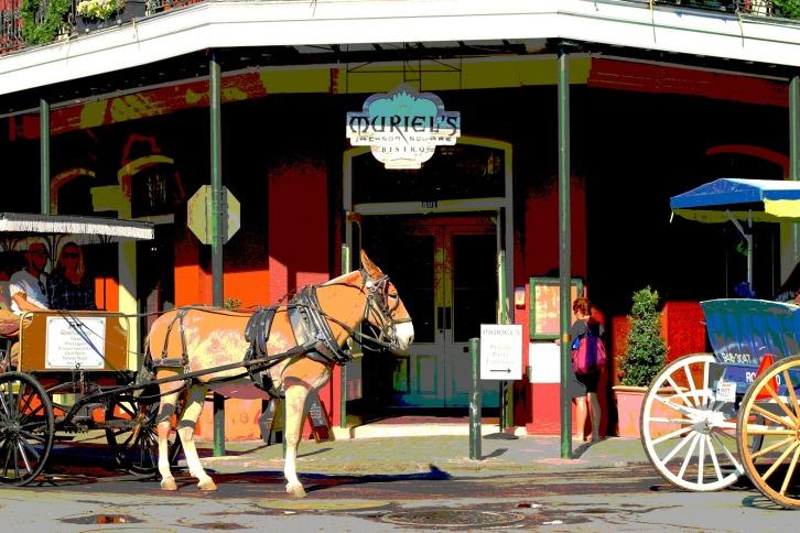 Muriel's Bistro, Jackson Square, New Orleans