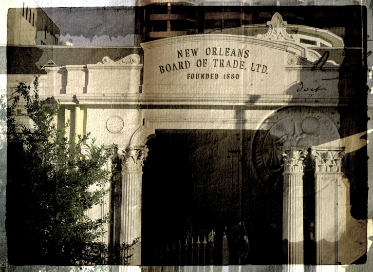 New Orleans Board of Trade, Jackson Square
